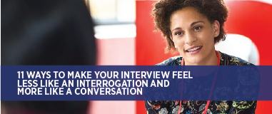 Turn your interviews into conversations