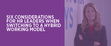 Switch to a Hybrid Working model