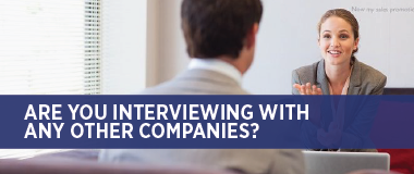 Interviewing with other companies