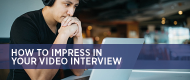 Impress in your video interview