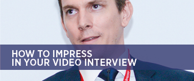 Impress your video interviewer